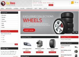 Accessories Car Magento Template