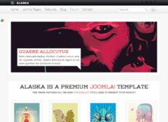 Alaska Joomla Template