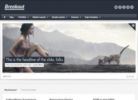 Breakout Wordpress Theme