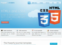 Hope Joomla Template
