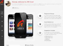 JSN Ares Joomla Template