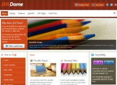 JSN Dome Joomla Template