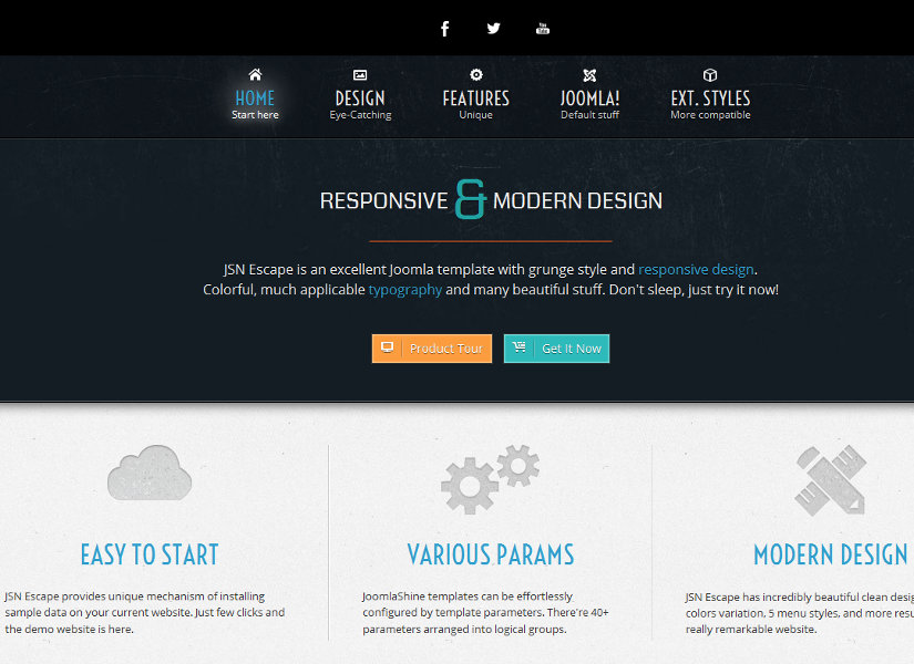 JSN Escape Joomla Template