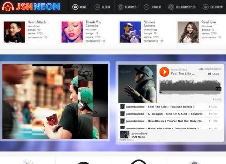 JSN Neon Joomla Template
