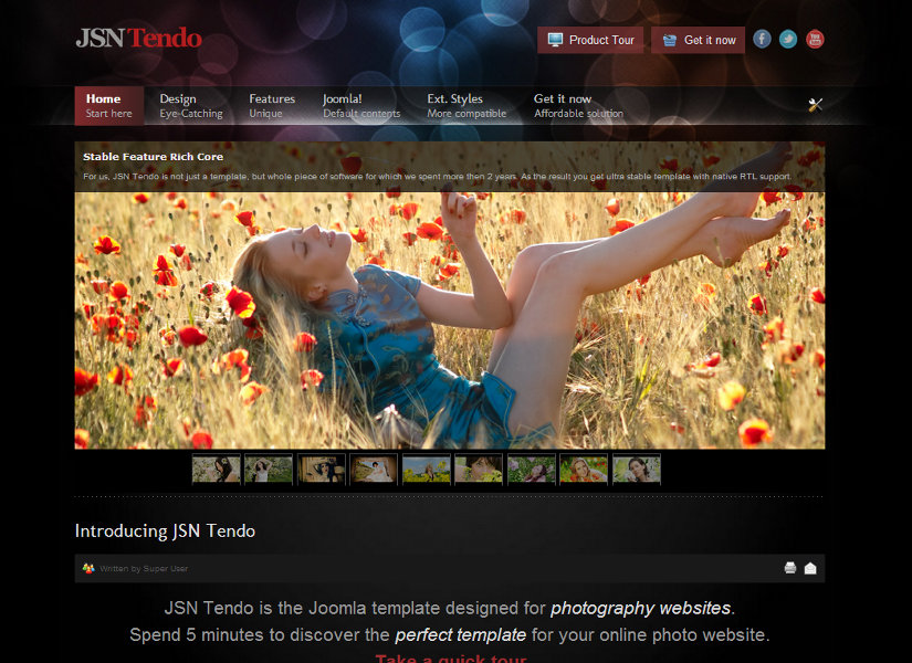 JSN Tendo Joomla Template