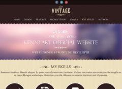JSN Vintage Joomla Template
