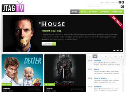 JTAG TV Joomla Template