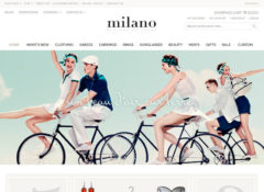Milano Magento Template