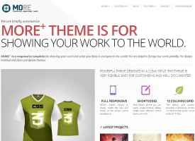 More+ Wordpress Theme