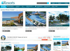 SJ Resorts Joomla Template