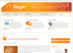 Blogic Joomla Template