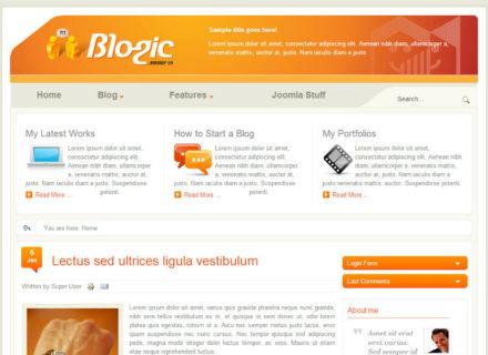 Blogic Joomla Template