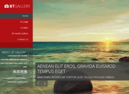 BT Gallery Joomla Template