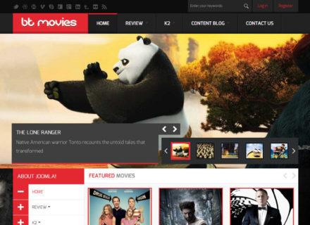 BT Movies Joomla Template