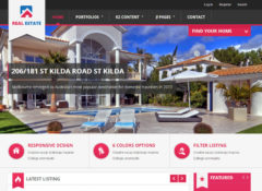 BT Real Estate Joomla Template