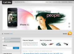 Call2me Joomla Template