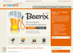 Creative Joomla Template