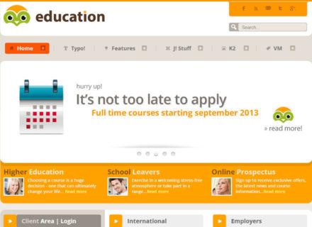 Education Joomla Template