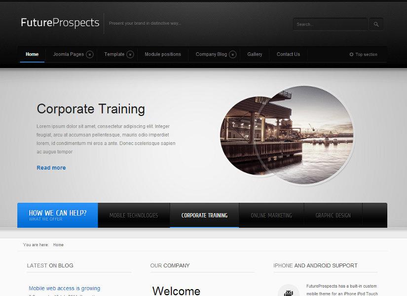 FutureProspects Joomla Template