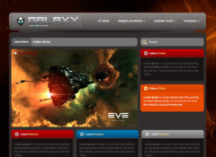Galaxy Joomla Template