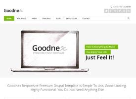 Goodnex Drupal Theme