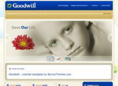 GoodWill Joomla Template