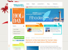Holiday Joomla Template