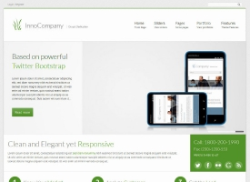 InnoCompany Drupal Theme