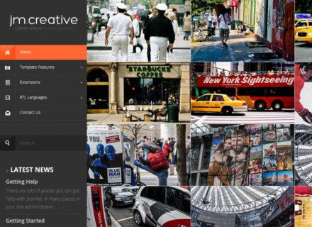 JM-Creative Joomla Template