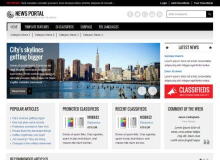 JM-News-Portal Joomla Template