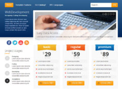 JM-Web-Development Joomla Template