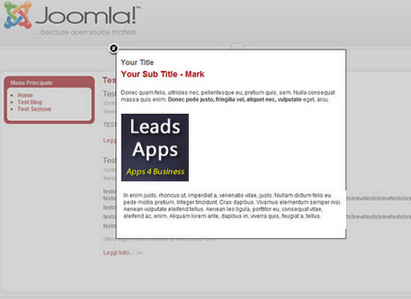 Joomla On Exit Popup Box Joomla Extension