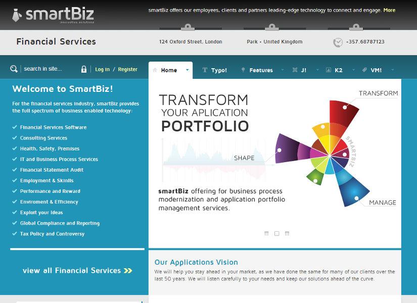 SmartBiz Joomla Template