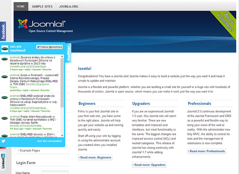 Social Slider for Joomla Joomla Extension