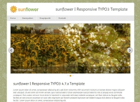 Sunflower Typo3 Template