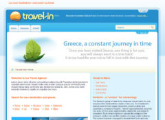 Travel In Joomla Template