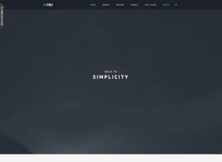 JSN Mini Free Joomla Template