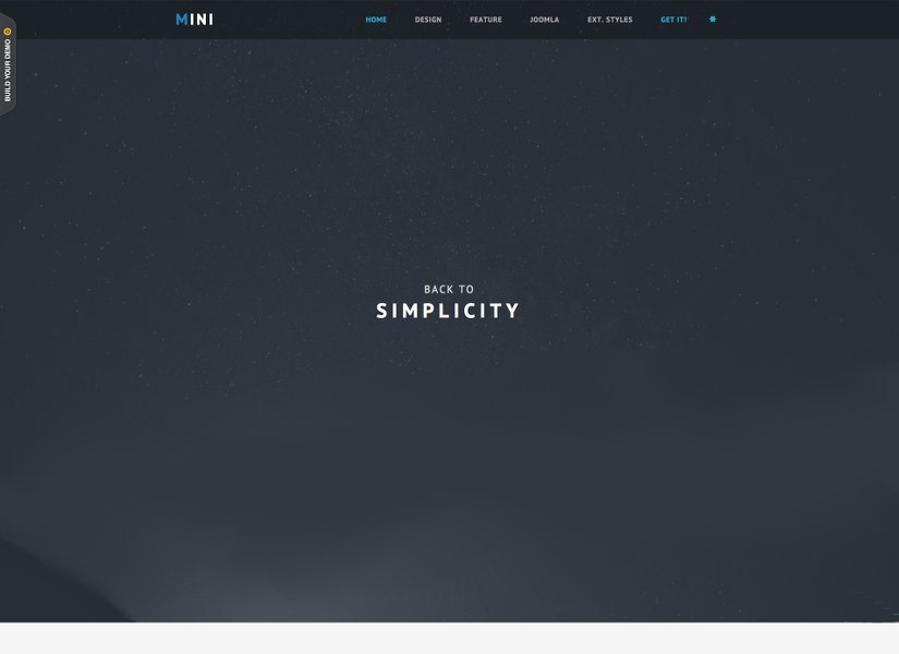 JSN Mini Free Joomla Template