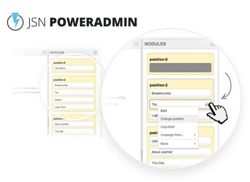 JSN PowerAdmin Joomla Plugin