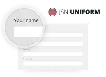 JSN UniForm Joomla Extension