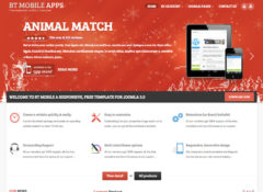 BT Mobile Apps Joomla Template