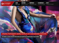 BT Photography Joomla Template